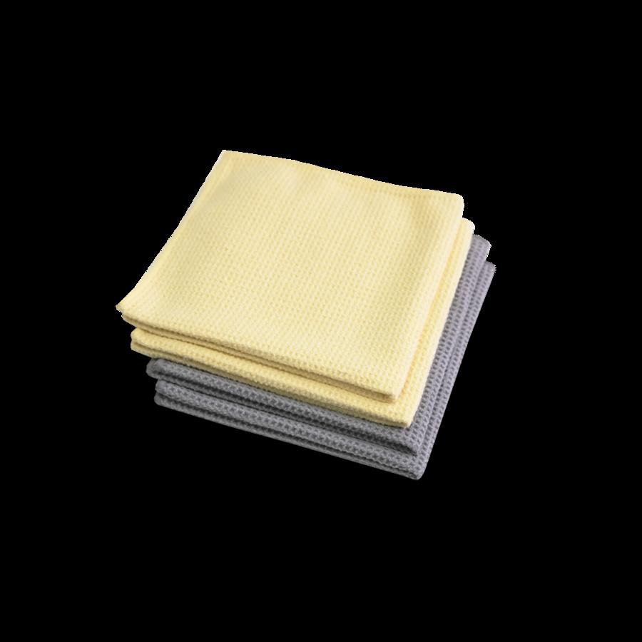 Салфетка из микрофибры для протирки Microfaser-Waffeltuch, комплект 4 штуки 999363 MW